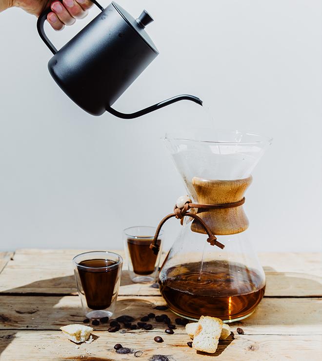 cafés intenses