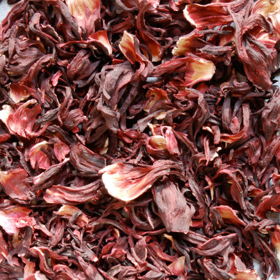 Tisane Hibiscus Bio (Hibiscus sabdariffa) 70g