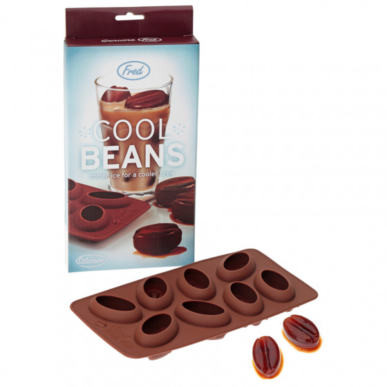 Bac à glaçons forme grains de café Cool beans
