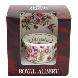 Tasse à thé et soucoupe Septembre Royal Albert