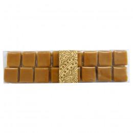 Réglette de 16 caramels à la vanille 145g