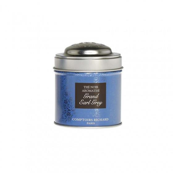 Thé noir Grand Earl Grey boîte métal vrac 30g