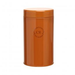 Boîte vide laquée orange