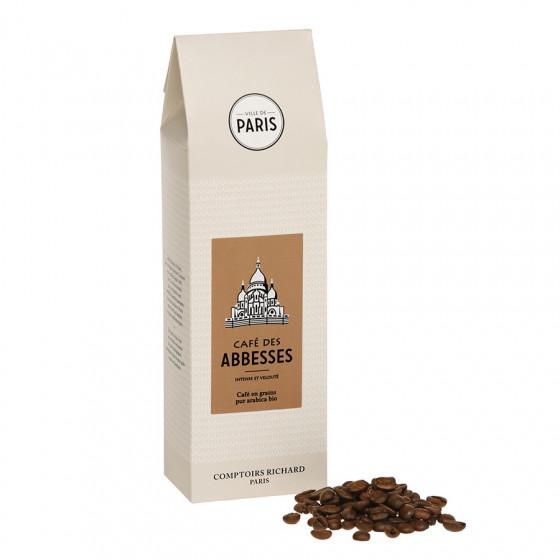 Café bio en grains Abbesses étui 250g