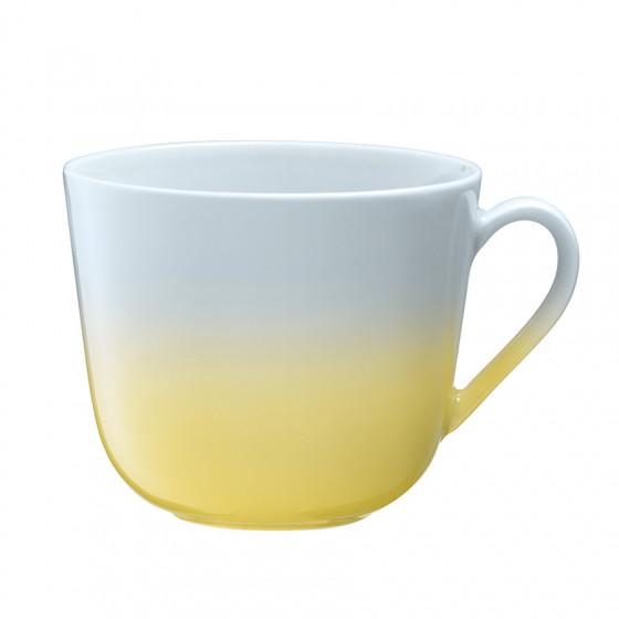 Grand mug jaune pastel 40cl