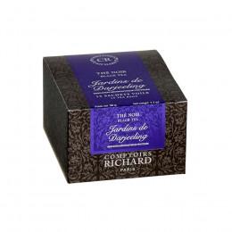 Thé noir Jardins de Darjeeling boîte sachets voile x15