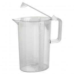Pichet transparent pour infusion glacée 1,5L
