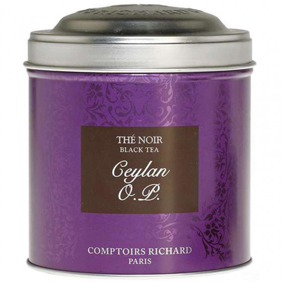 Boîte à thé vide Ceylan OP 200g