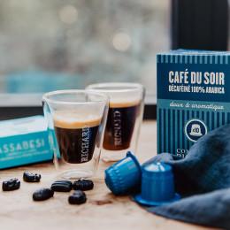 Décaféiné Café du soir capsules compatibles Nespresso® x10