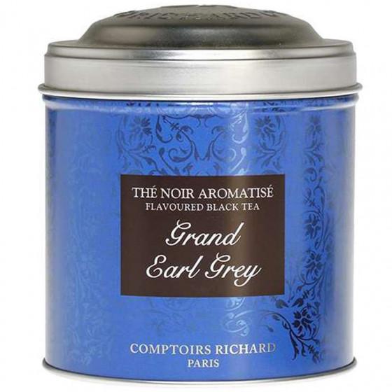 Boîte à thé vide Grand Earl Grey 200g