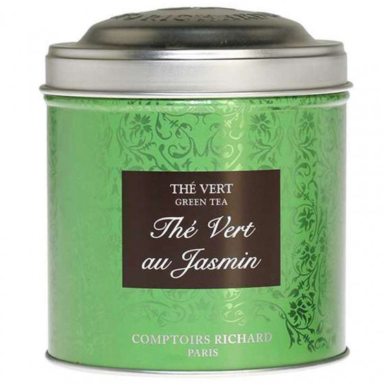 Boîte à thé vide Thé Vert au Jasmin 200g