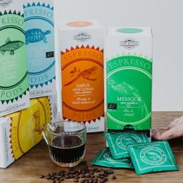 Café Honduras bio et équitable pods ESE étui x25