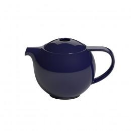 Théière ronde bleu marine 0.6L