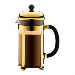 Cafetière à piston dorée Chambord 8 tasses Bodum