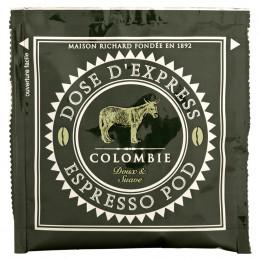 Café Colombie pods ESE étui x25