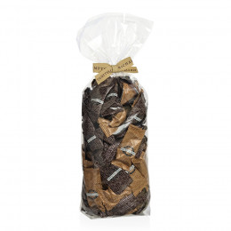 Sachet garni de duo d'amandes cacaotées 250g