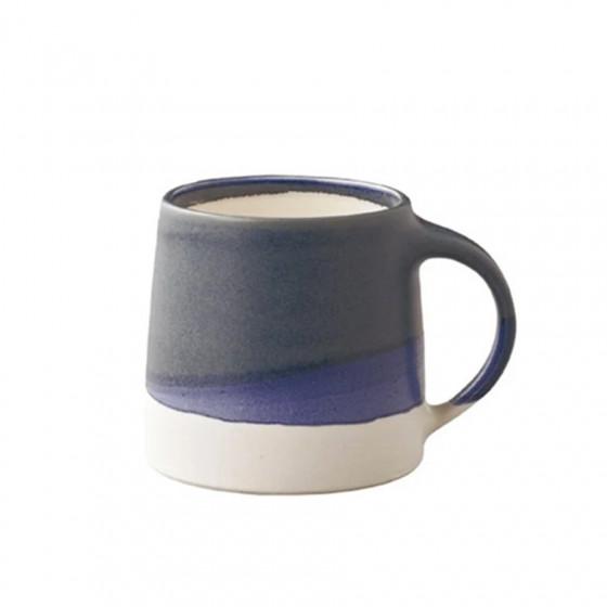 Mug tricolore bleu - blanc 32cl