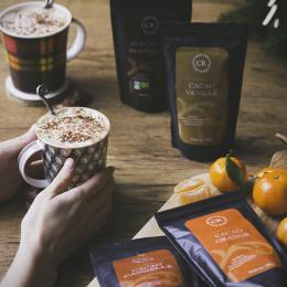 Cacao en poudre aromatisé à la vanille 200g