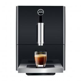 Robot café JURA A1 Piano Black et 2 paquets de 250g de café en grains et 4 verres expresso Cafés Richard 5cl offerts