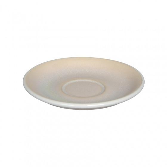 Soucoupe Egg Cappuccino couleur ivoire