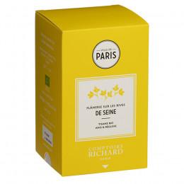 Tisane Bio anis & réglisse Flânerie sur les rives de Seine sachets mousseline x20