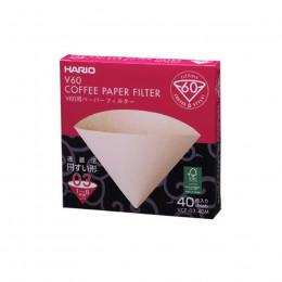 Filtres dripper v60 1 à 6 tasses x 40