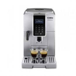 Robot café Delonghi Dinamica FEB 3575.S et 3 paquets de 250g de café en grains et 2 verres expresso Cafés Richard 8cl offerts