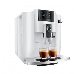 Robot café JURA E6 Piano White et 3 paquets de 250g de café en grains et 2 verres expresso Cafés Richard 8cl offerts