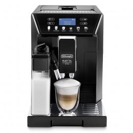 Robot café Delonghi Eletta ECAM 46860B et 3 paquets de 250g de café en grains et 2 verres expresso Cafés Richard 8cl offerts
