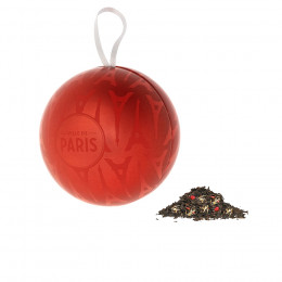Boule de Noël thé noir Noël aux Comptoirs 50g
