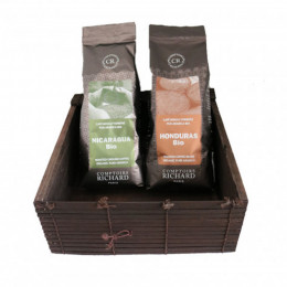 Coffret duo Grandes Origines Bio moulus 500g