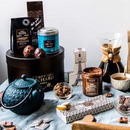 Réglette rochers pralinés et napolitains chocolat 52g