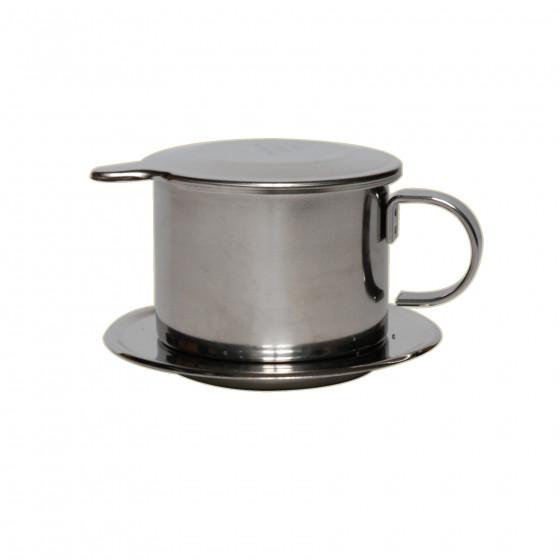 Monofiltre inox à poser sur tasse café