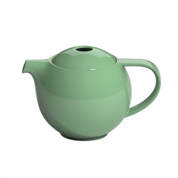 Théière ronde vert sauge 0.9L