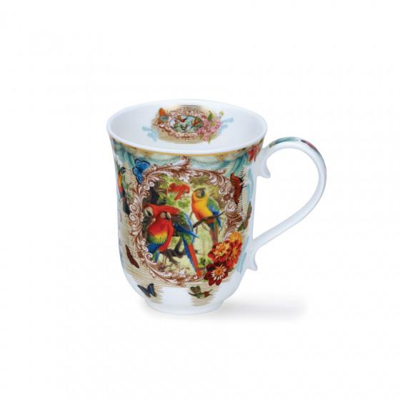 Mug Braemar Lost World motif perroquet 33 cl