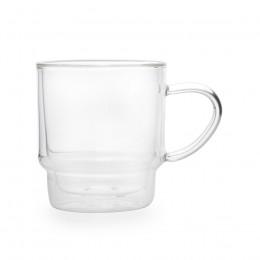 Mug verre double paroi 30cl