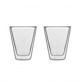 Set de 2 verres double paroi expresso 8,5cl