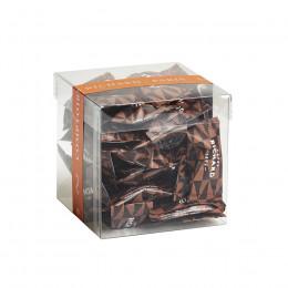 Etui garni d'amandes cacaotées chocolat noir 140g