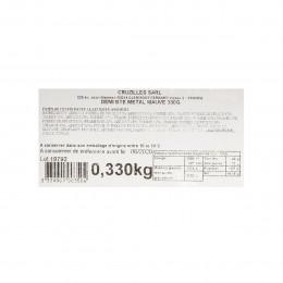 Boîte métal garnie de pâtes de fruits assortis 330g