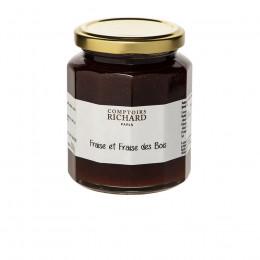 Confiture Fraise et fraise des bois 320g