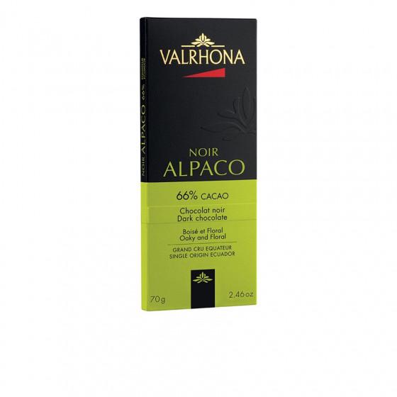 Tablette de chocolat noir 66% Alpaco 70g