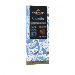 Tablette de chocolat noir 66% Caraïbe 70g