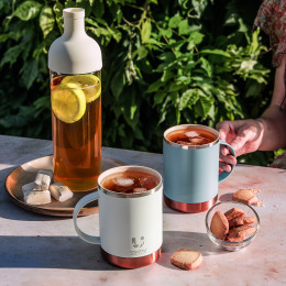 Bouteille thé glacé blanche Hario 75cl