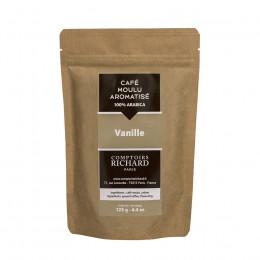 Café moulu Moka aromatisé vanille 125g