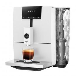 Robot café JURA ENA 4 White et 2 paquets de 250g de café en grains et 4 verres expresso Cafés Richard 5cl offerts