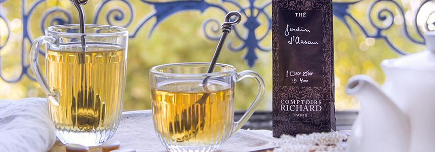 Nos thés parfumés